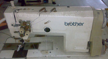 Japan Brother 842 Used Second Hand Sewing Machine Double Needle Price Two Needle Sewing Machine Brother Sewing Machine
