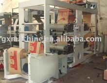 Craft Paper Bag Roll Flexo Printing Machine
