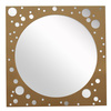 decorative round bathroom wall mirror frame