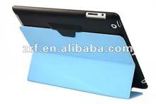 Professional Blue Folding PU Tablet Laptop Smart Cover