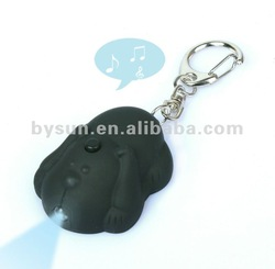BS-039 2012 The puppy dog sound led key ring