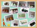 venta al por mayor perforados de huevo en forma de piedras de jade huevos