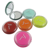 Rainbow acrylic double side compact wholesale pocket mirror China factory
