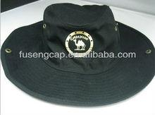 Custom fashion man fishing cotton bucket cap