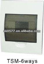 TSM Series of Plastic Distribution Box / Electrical distribution board