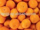 Fresh tangerine orange