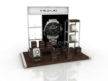 MDF watch display, acrylic watch display, countertop watch display