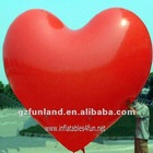 Inflatable Heart Shape Helium Hydrogen Promotion Advertising Balloon.