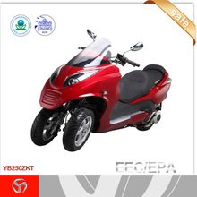 250cc EEC kaitong three wheel gas scooter/motorcycles YB250ZKT