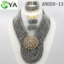 Wholesale gold plated jewelry pearl necklace plain jewelry necklace sets