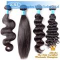 Remy del pelo humano, pelo de la armadura libre packs remy extensiones de cabello natural