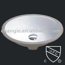 ceramic basin,porcelain sink,undermount sink 1626