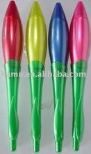 Flower shape plastic ballpen
