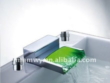 hot selling new style color changing sensor brass led faucet mixer