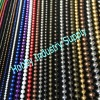 decorative vertical hanging shimmer metal ball chain curtain