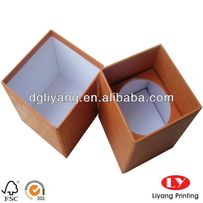 Cardboard Candle Cardboard Candle Box With High