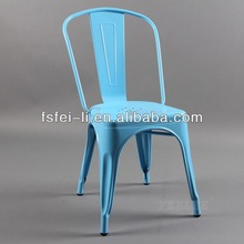 Cheap plastic chairs with metal legs For Sale