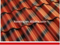 Hot sale double colour interlocking roof tiles