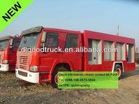 HOWO 4x2 foam fire truck rescue vehicles foam tenders fire vehicles water tenders for sale fire fighting water truck