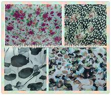 2012 hot sale very soft printed chiffon fabrics
