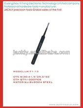 JK-T1-13,Flat nose tweezers,CE Certification.