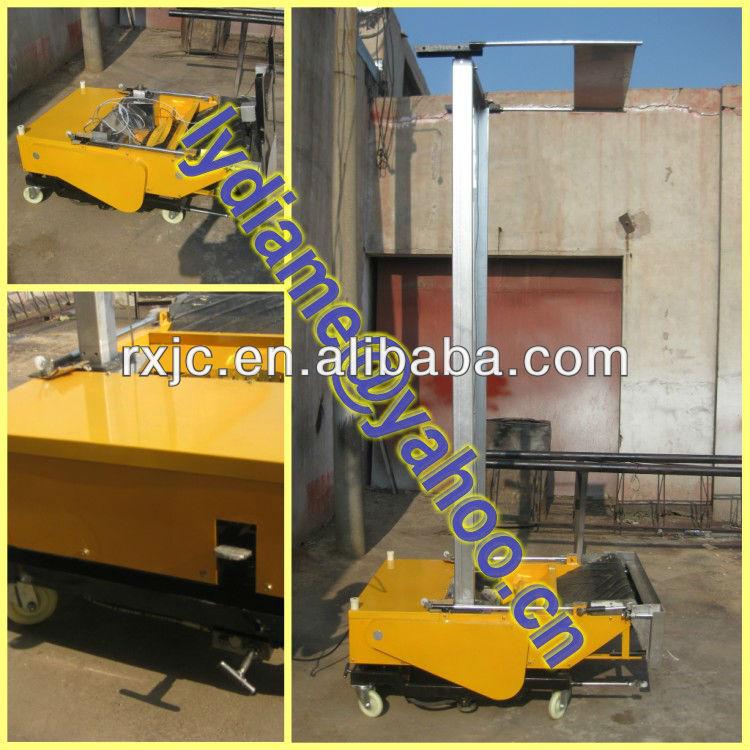 Auto rendering machine/Plastering machine for wall/Cement spray plaster machine