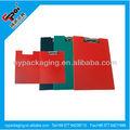 Portapapeles fábrica de carpetas/a4 de plástico titular del documento