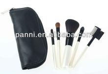 5pcs Elegant Pearl Handle Makeup Brushes set cosmetic Kit, Gift