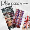 UK Fashion Nail tattoo sticker Sample Free