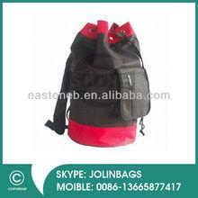 Promotion shoes bag eyelets 600D polyester sport drawstring toggle bag