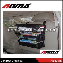 2013 New adjustable car clothes bar car boot organizer car organizer seat back pocket