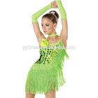 Stunning Handmade Beading Ballroom Salsa Samba Rumba Rhythm Dress