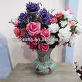 flor de contacto real de flores artificiales