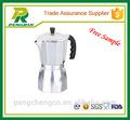 Lfgb e segurança 6 copos coloridos novo design expresso cafeteira moka/máquina de café