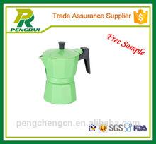 espresso coffee maker/green coffee maker/aluminium coffee makers