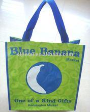 eco PP woven shopping bag supplier