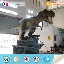 Dinosaur park lifelike animatronic t-rex