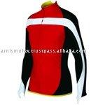 ผู้หญิงแขนยาวขี่จักรยานฤดูหนาวบน/เสื้อผ้า/สวม