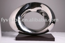 Modern Stainless Steel Sculpture Abstract art Sculpture For home Decoration or Commercial use