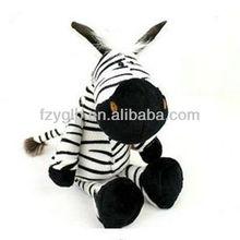 stuffed plush zebra toys, zoo animal toys