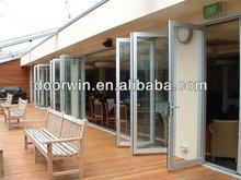 Modern Design Australian Standard Double Glazing Aluminium Folding Door,Aluminum Doors