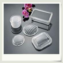 pressed borosilicate round glass light lamp shade manufacturer