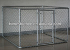 folding metal mesh dog cage 10' x 10' x 6' chain link animal cage for sale factory direct