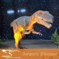 Life-size Gaint Robotic Dinosaur for Jurassic Park Animatronic Dinosaur