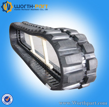 Rubber tracks for excavator,small robot rubber tracks