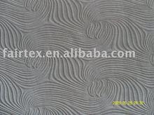 Polyester burn-out velvet fabric for sofa cover