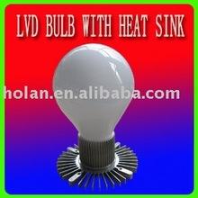 LVD electrodeless light bulb with a heat sink