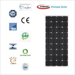 150W Solar Panel with TUV IEC MCS INMETRO IDCOL SONCAP Certificates [ EU Antidumping Duty-Free ]