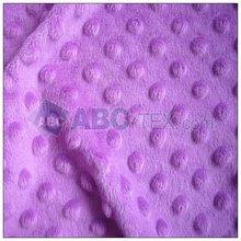 dimple cuddle minky/dot minky/minky dot/ minky plush for baby blanket
