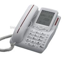 Caller ID Corded Telephones, Big LCD Loud Speakerphone, 2 days delivery.